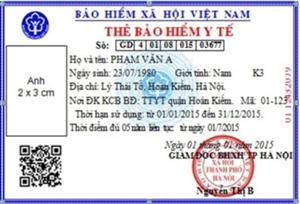 Ý nghĩa mã số ghi trên thẻ Bảo hiểm y tế