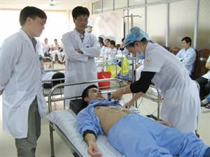 Chương trình đào tạo y khoa Tháng 1/2018 - Kỹ năng ghi điện tim