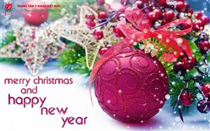 Chúc Quý Khách Hàng Giáng Sinh An Lành và Năm Mới Hạnh Phúc